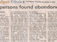 Chandigarh Tribune 27.11.07